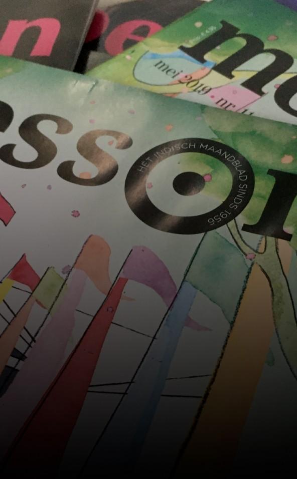 Verzameling tijdschriften van Moesson