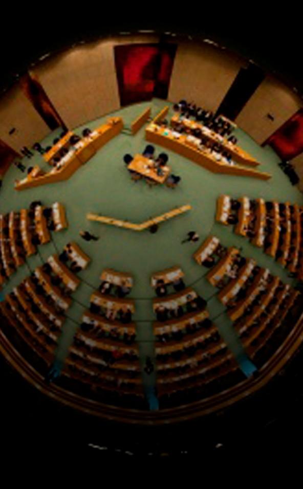 foto plenaire zaal tweede kamer